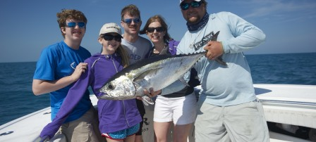 First tuna on board