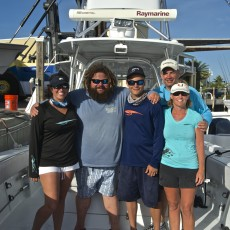 TJ and our first foundation family the Murdochs visit the Keys annually since their trip.  TJ stopped by to say hello, and drop off a pair of Costas to Tyler since he lost his first pair.