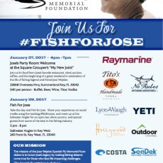 Get Your Tickets for Fish For Jose Event!