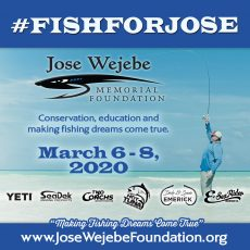 #FISHFORJOSE 2020 AUCTION - LIVE AT 4 PM ET ON 3/6/20