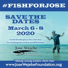 Fish For Jose 2020 - Save the Date