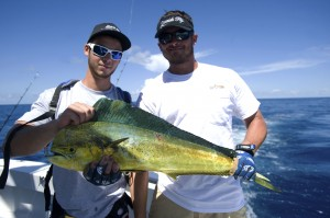 Scott and Neil with a nice mahi...dinner