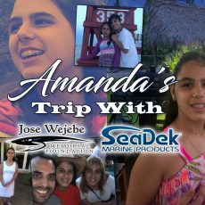 Amanda's Trip with JWMF and SeaDek
